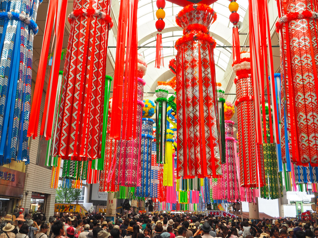 Tanabata Star Festival in Japan